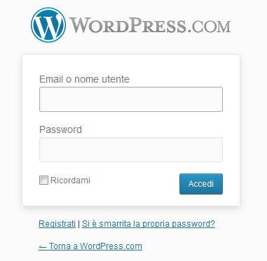 login wordpress-com