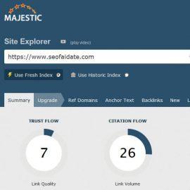 Majestic SEO: il tool per link building