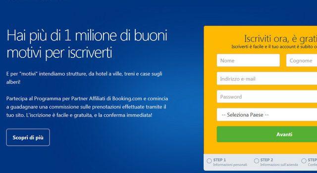 Affiliazione booking.com