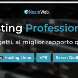Hosting Noamweb: recensione e opinioni